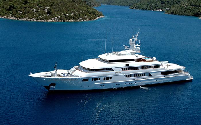 قایق های لوکس جهان LadyMoura